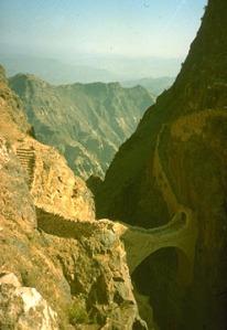 Shaharah Bridge, Yemen